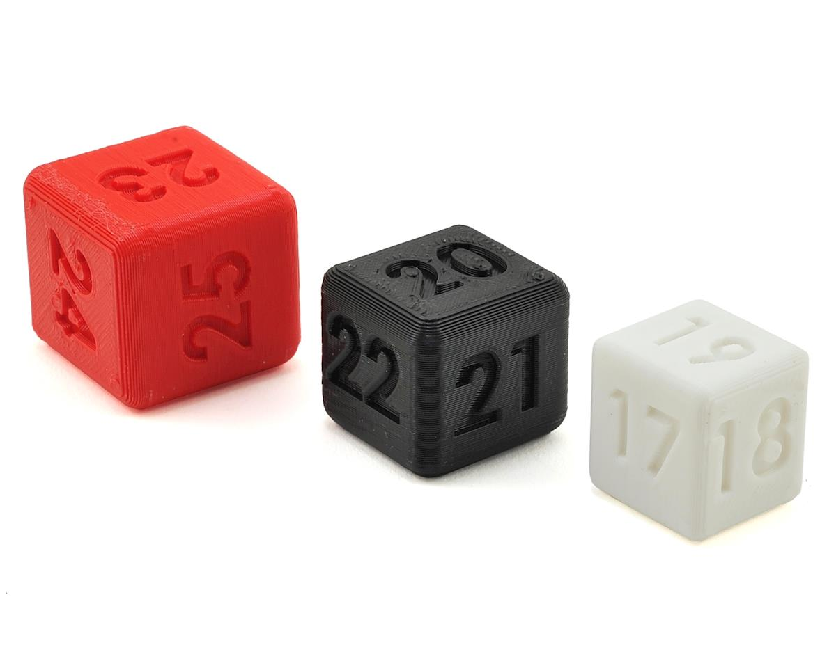 Off-Road Ride Height Dice (3) (17-25mm) by Gravity RC