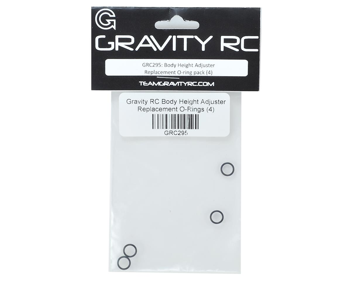 Gravity RC Body Height Adjuster Replacement O-Rings (4)