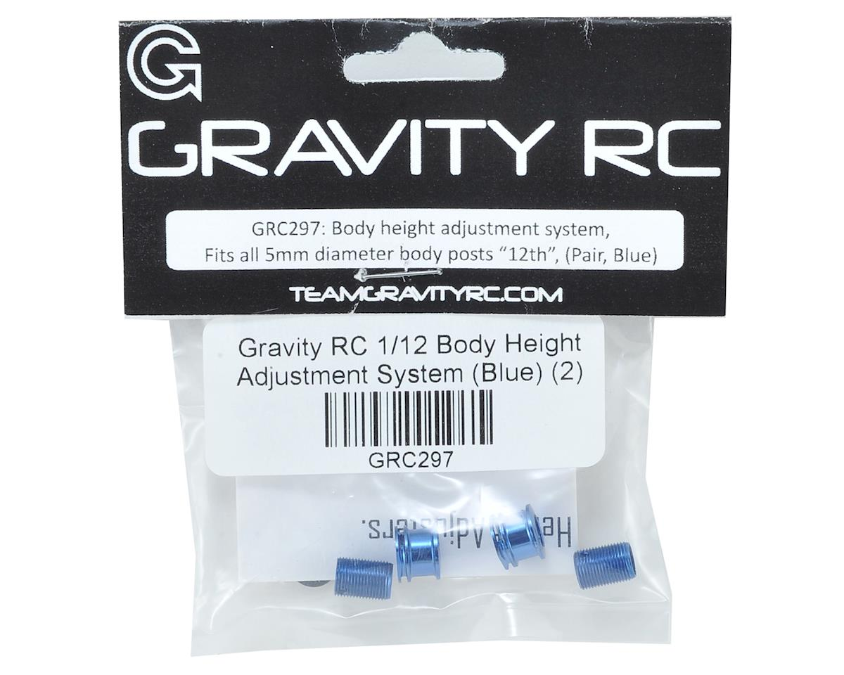 Gravity RC 1/12 Body Height Adjustment System (Blue) (2)