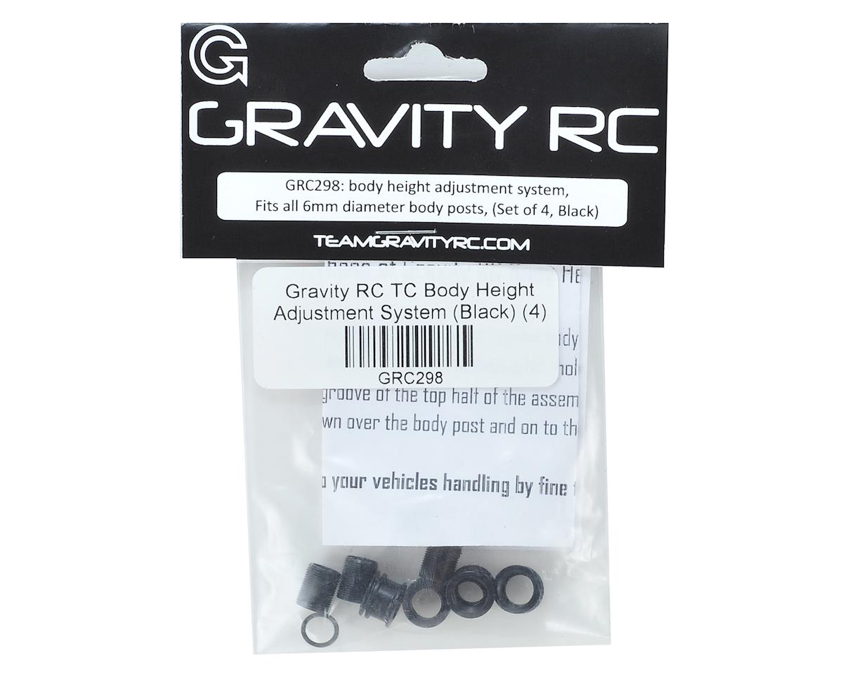 Gravity RC TC Body Height Adjustment System (Black) (4)