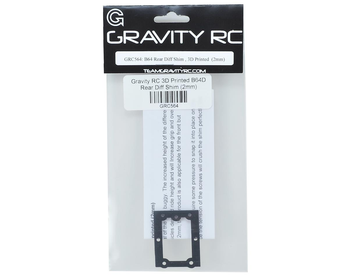 Gravity RC 3D Printed B64D Rear Diff Shim (2mm)