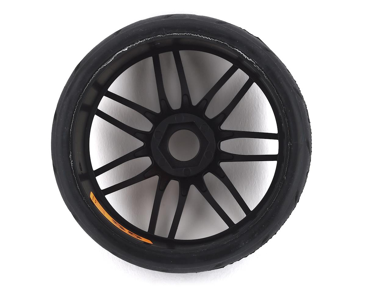 GRP GT - TO1 Revo Belted Pre-Mounted 1/8 Buggy Tires (Black) (2) (S7)