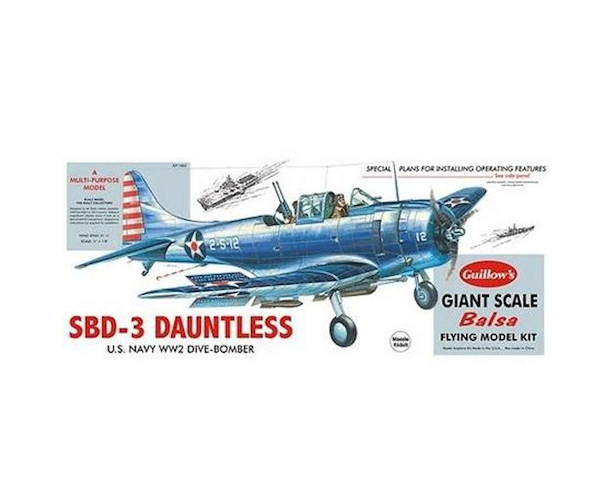 Douglas SBD3 Dauntless by Guillow