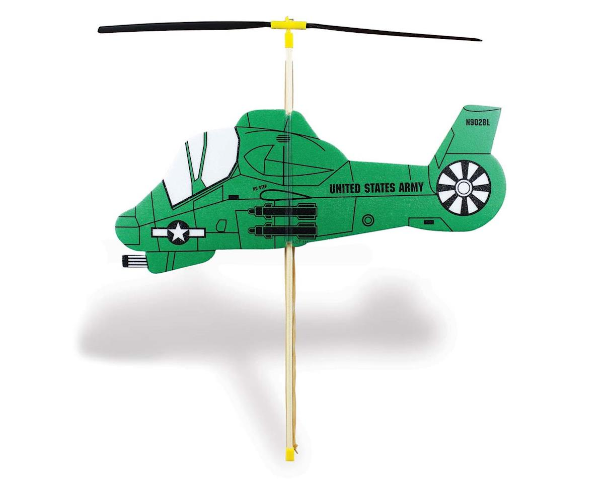 Guillow Rubber Powered Copter Toy - Helicopter (24)