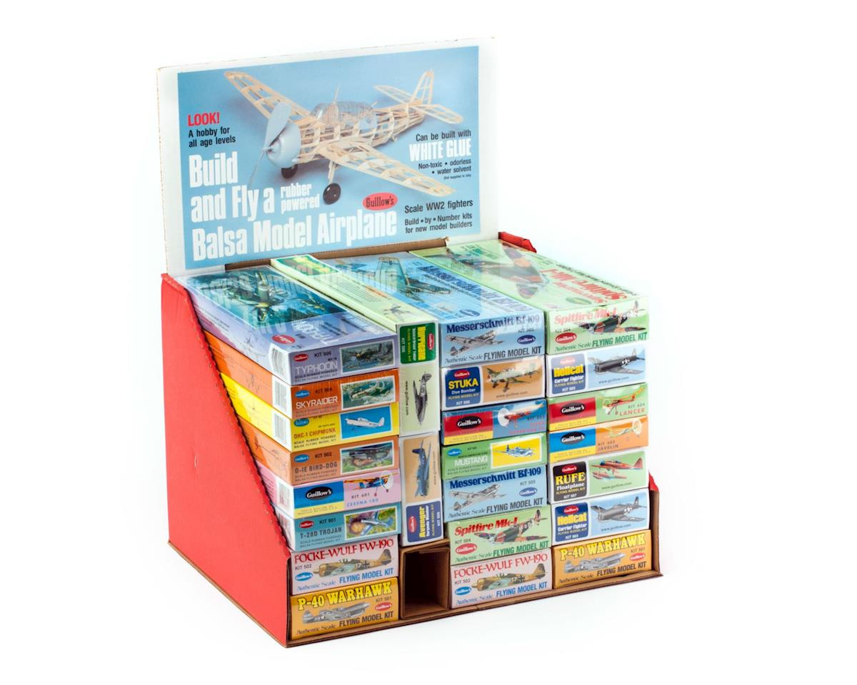 Guillow Balsa Model Kit Assortment (24)