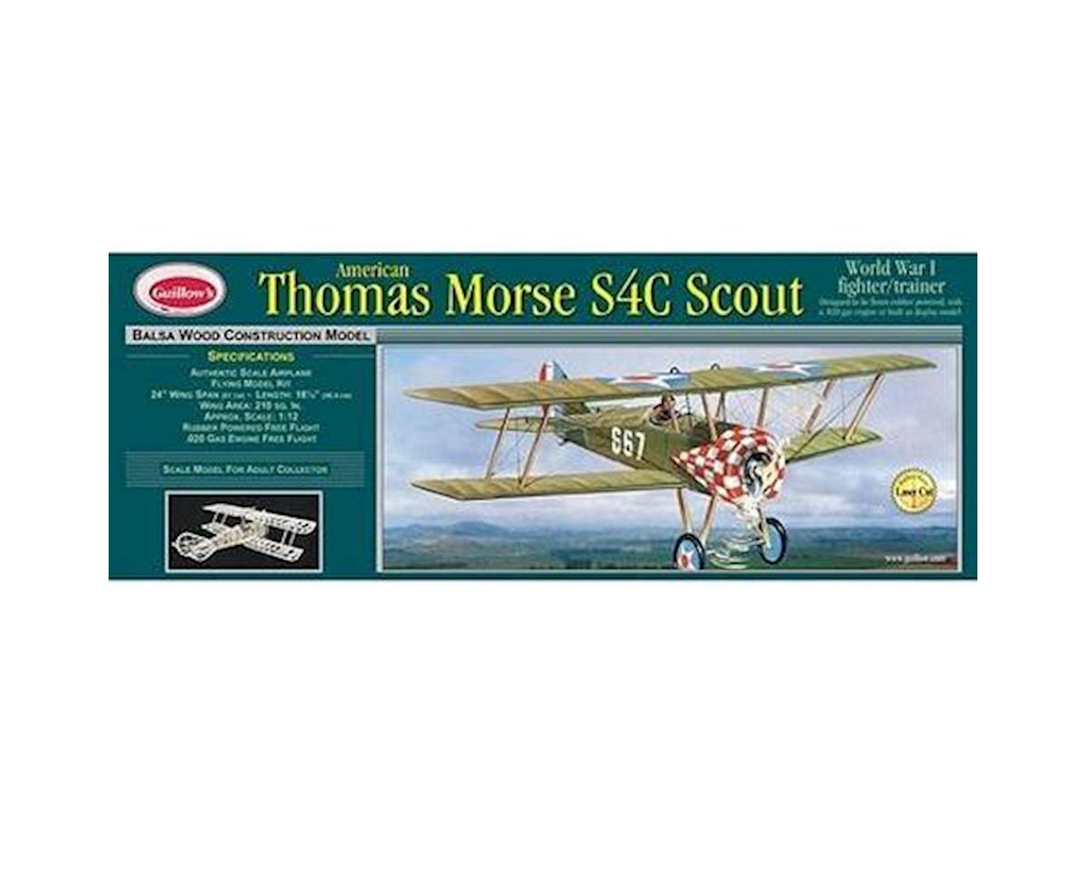 Thomas Morse S4C Scout LaserCut by Guillow