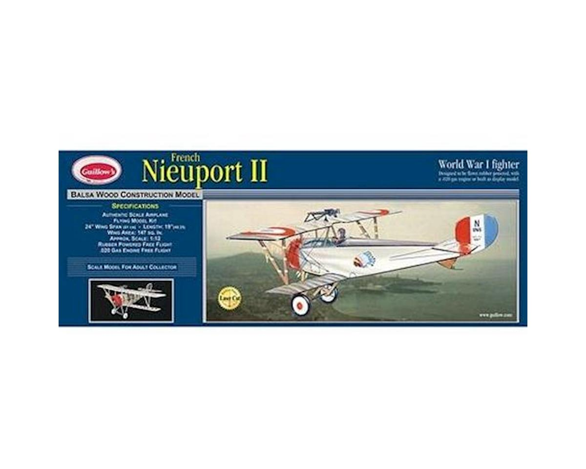 Guillow Nieuport II Laser Cut