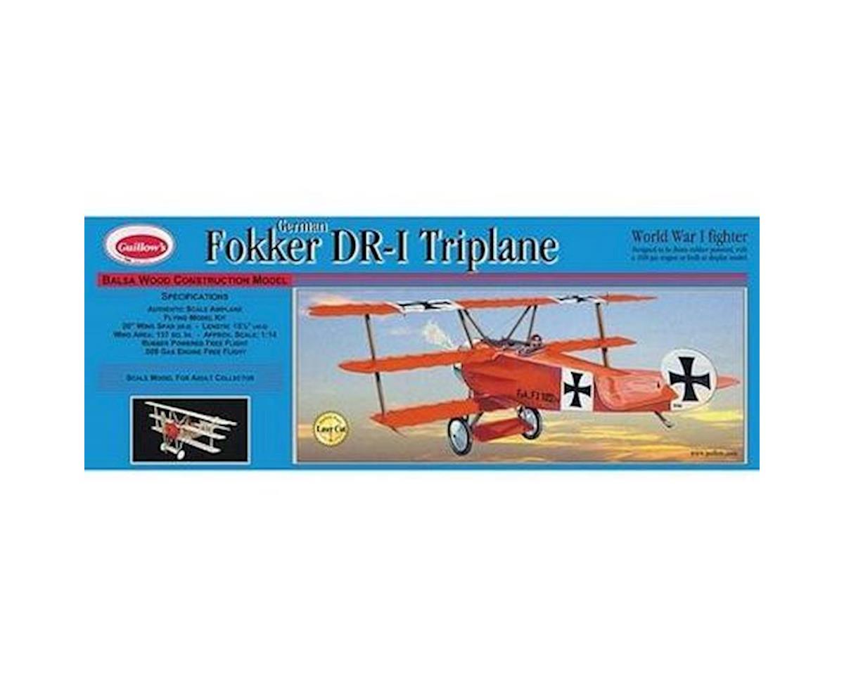 Fokker DR1 Triplane Laser Cut by Guillow