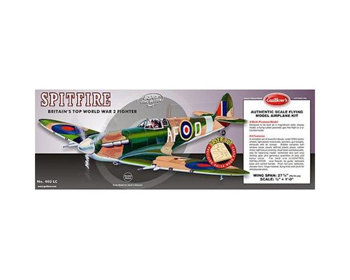 Supermarine Spitfire Laser Cut by Guillow