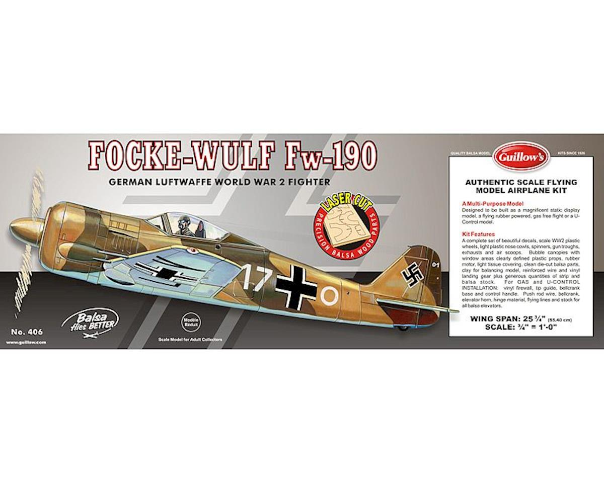 Focke-Wulf 190 Laser Cut by Guillow