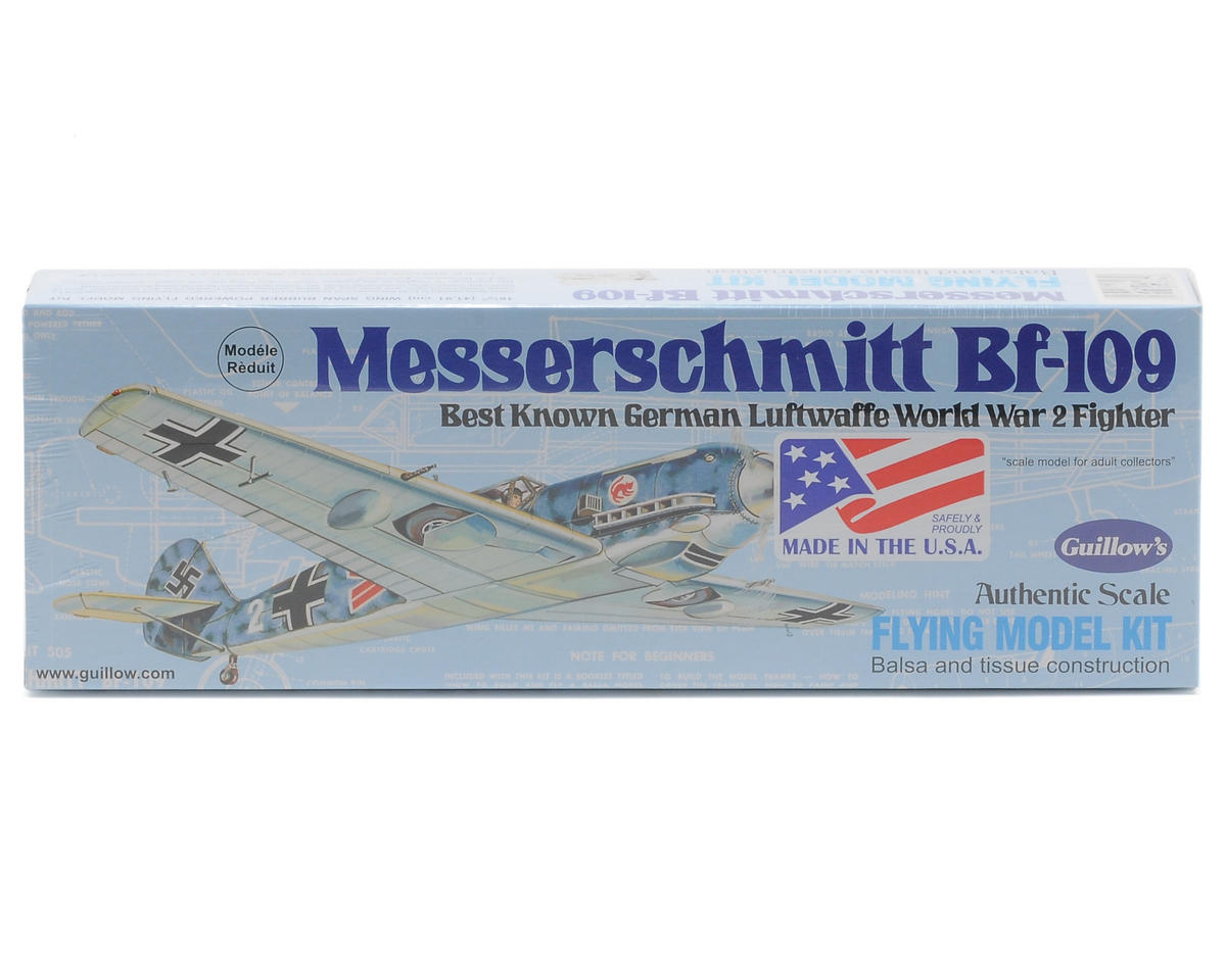 Guillow Messerschmitt Bf-109 Flying Model Kit