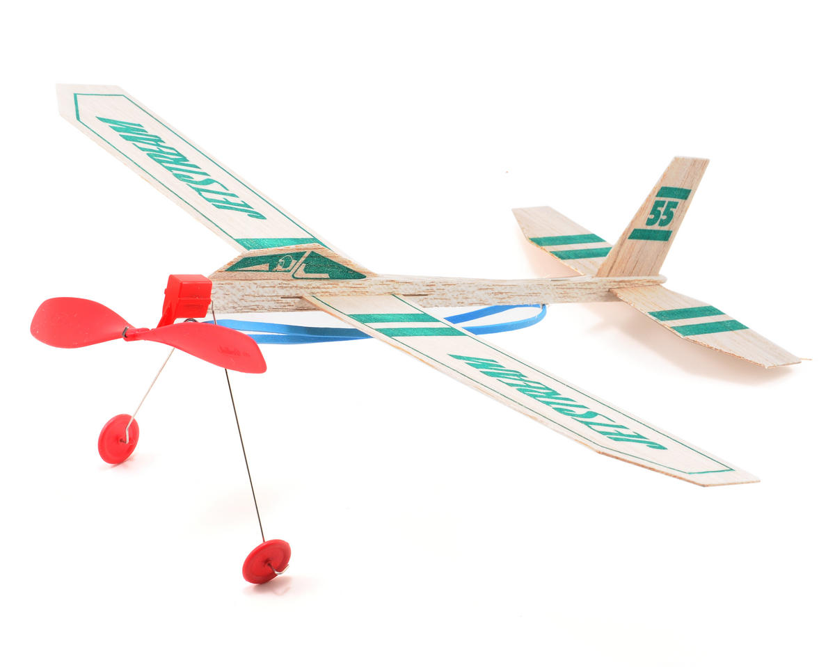 Rise Off Ground Jetstream Balsa Airplane Glider