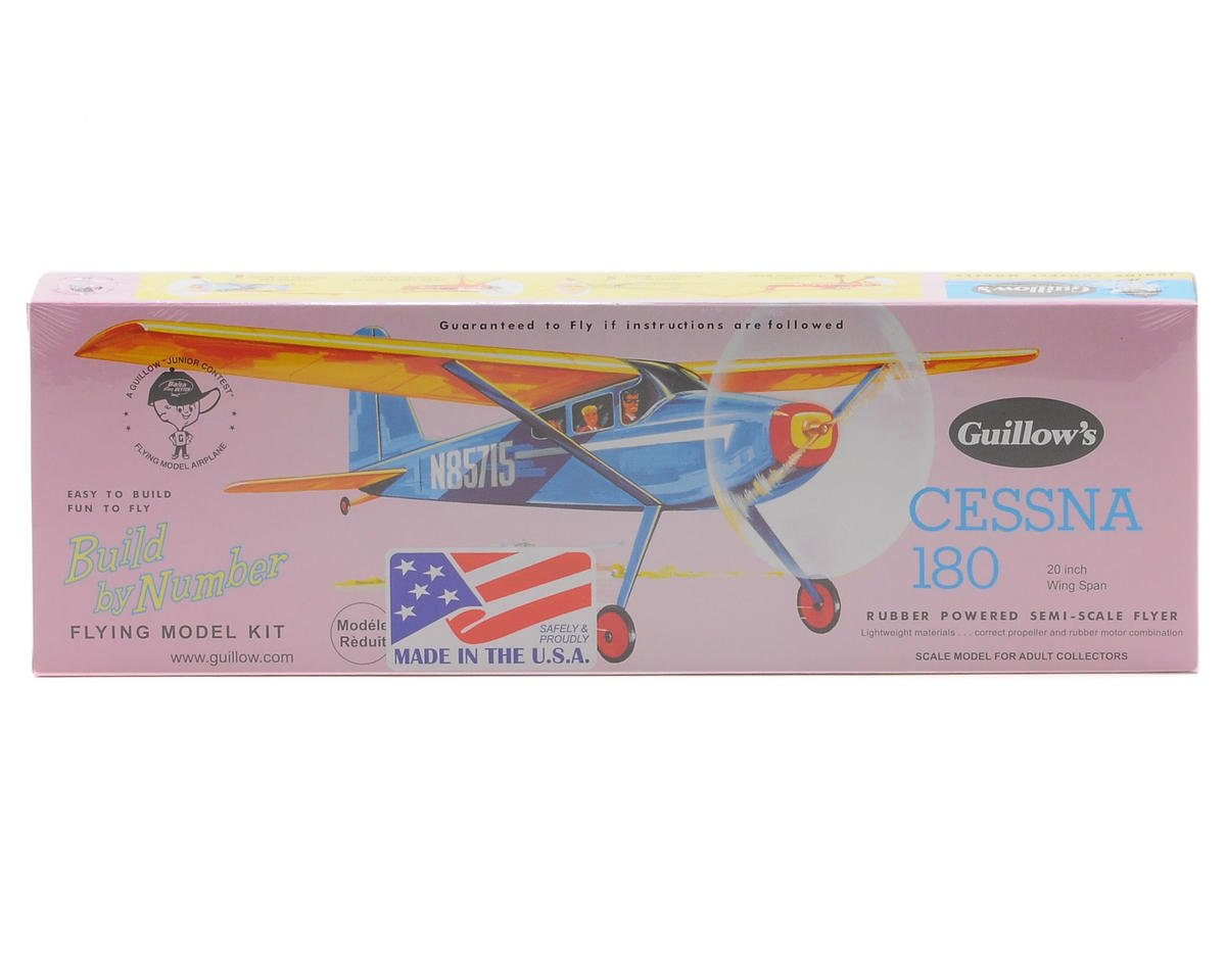 Guillow Cessna 180 Rubber Powered Semi-Scale Flyer