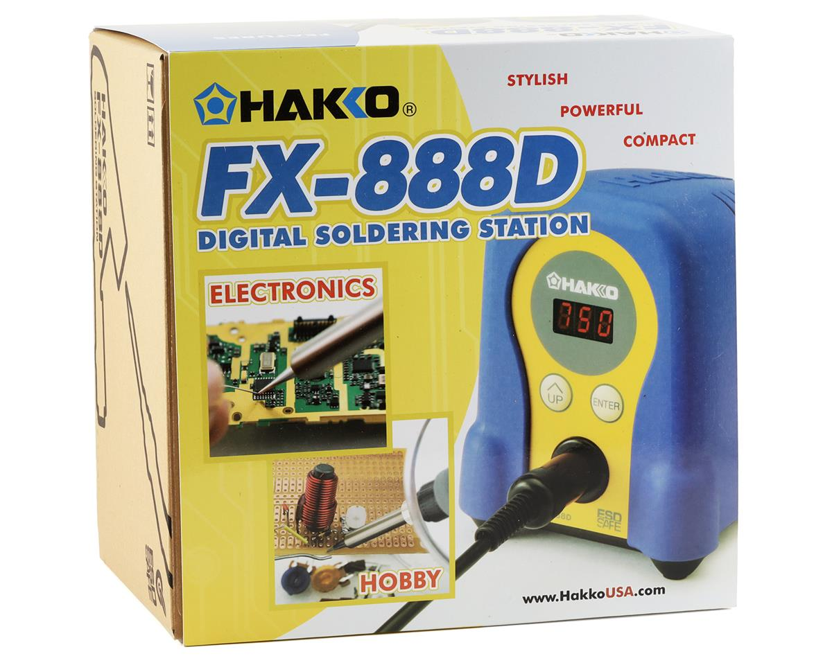Hakko FX888D ESD Safe Digital Adjustable Temperature Soldering Station