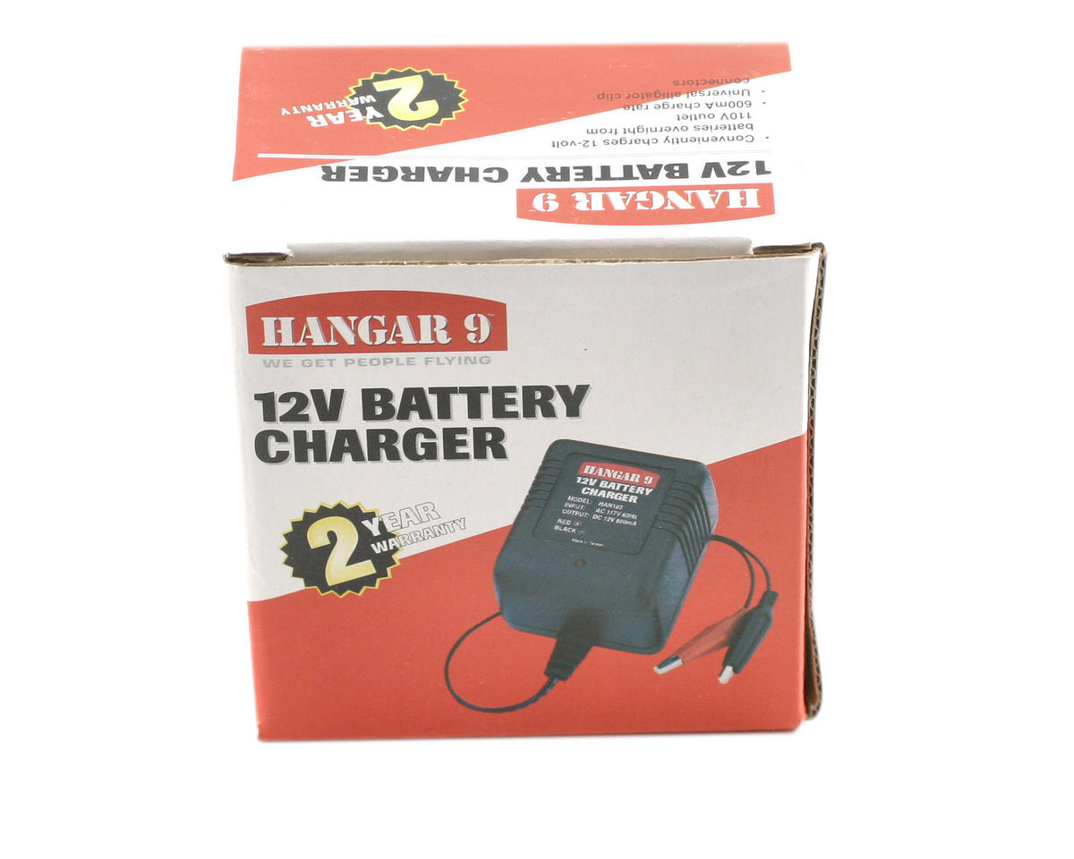 Hangar 9 12V 600mAh Battery Charger