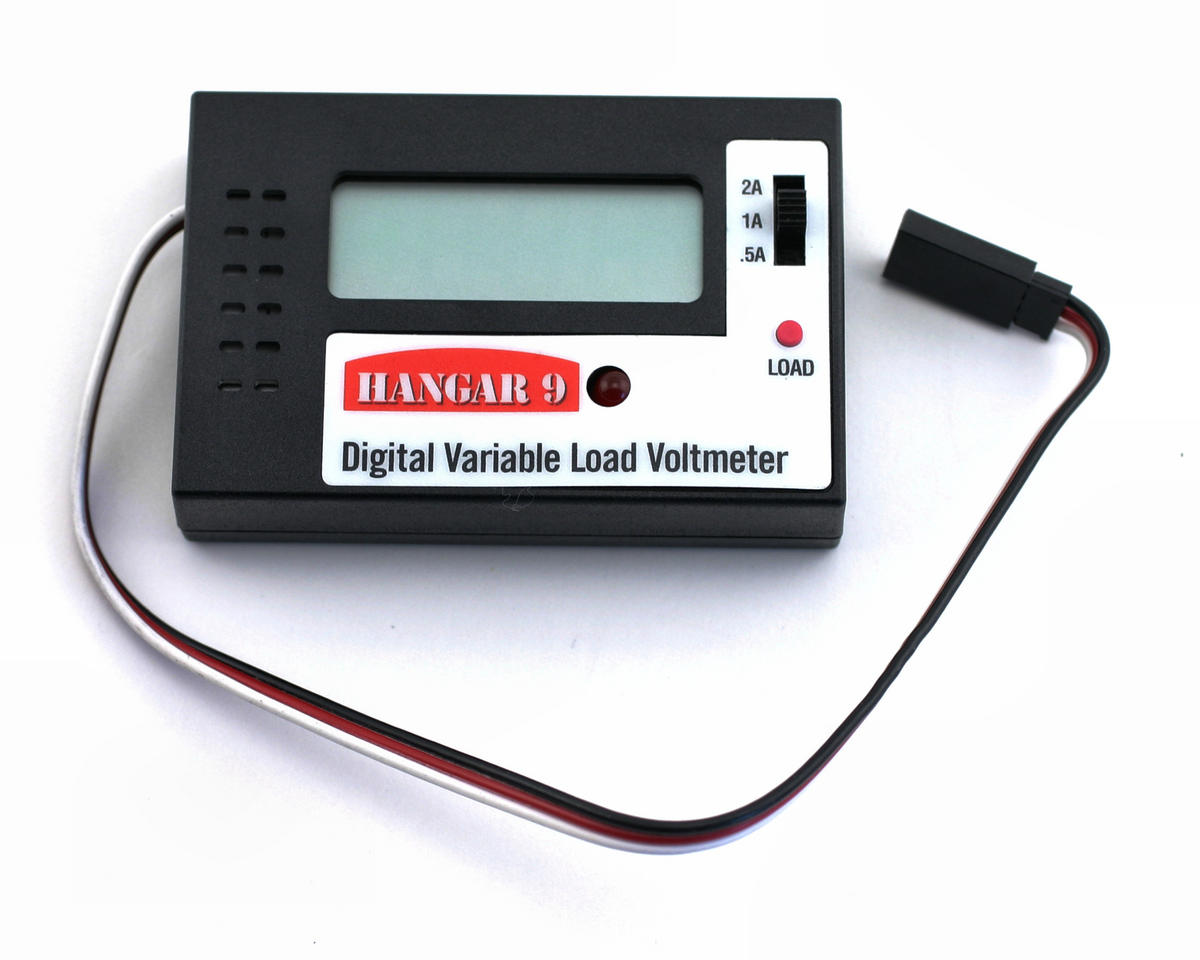 Digital Variable Load Voltmeter