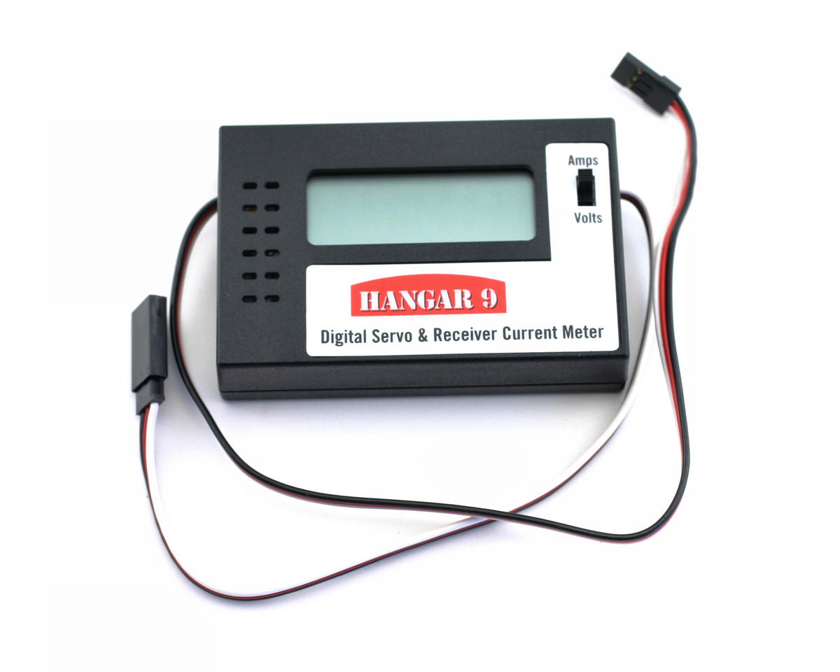 Hangar 9 Digital Servo and Receiver Current Meter
