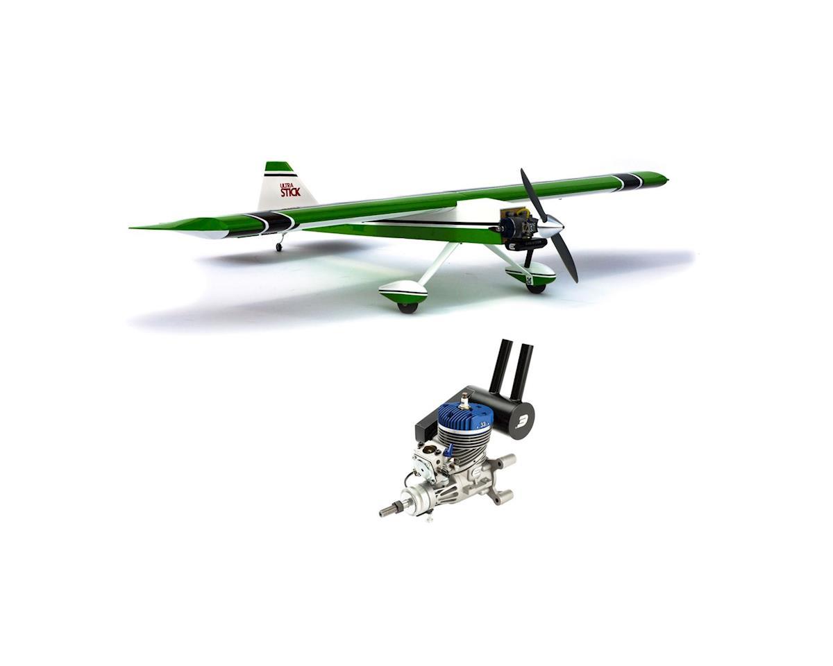 Hangar 9 Ultra Stick Combo w/ EVO33GX