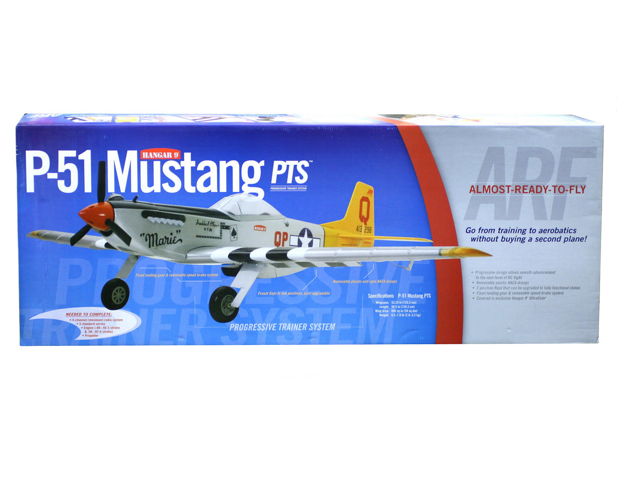 Hangar 9 Hanger 9 P 51 Mustang Pts Arf Han2845