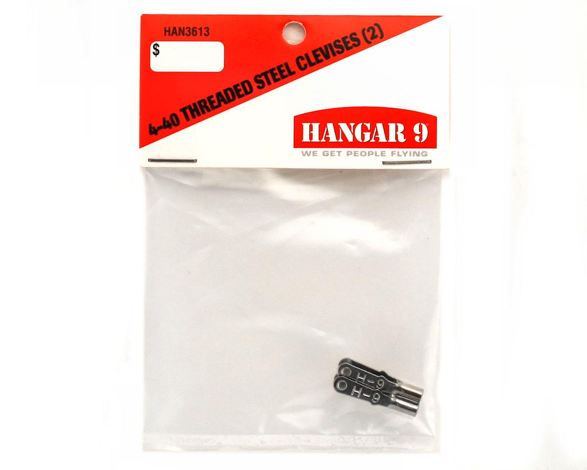 4-40 Threaded Steel Clevis (2) by Hangar 9