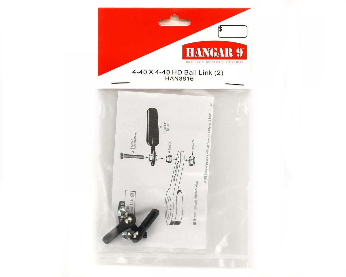 Hangar 9 4-40 x 4-40 HD Ball Link (2)