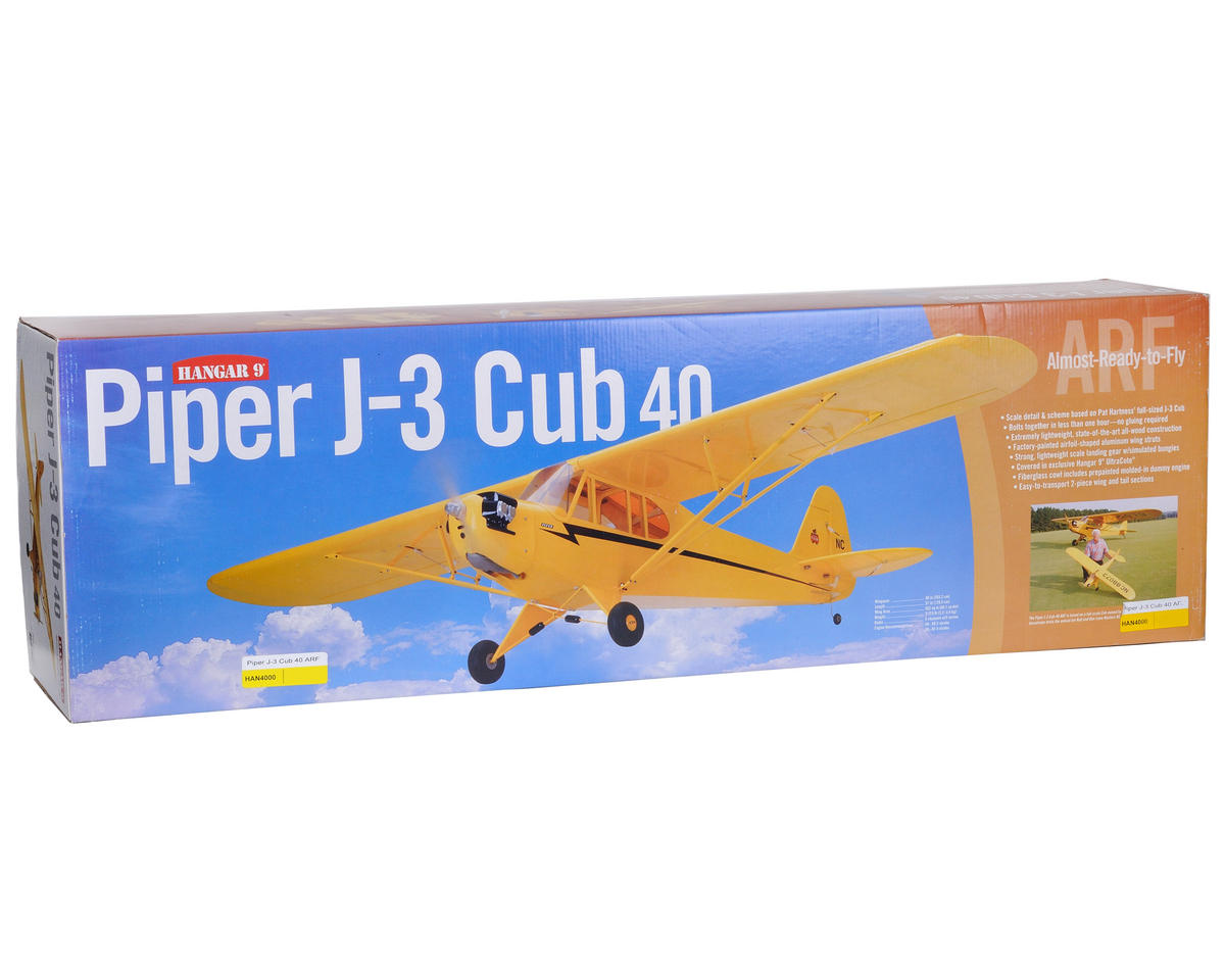 Hangar 9 Piper J-3 Cub 40 ARF (2032mm)