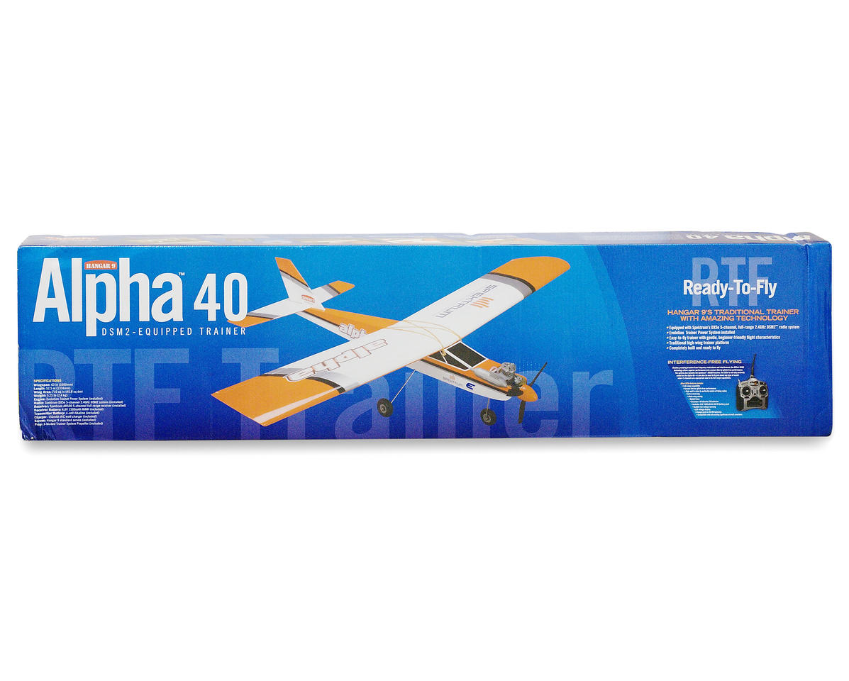 Hangar 9 Hanger 9 Alpha 40 DSM2 Ready-To-Fly Trainer