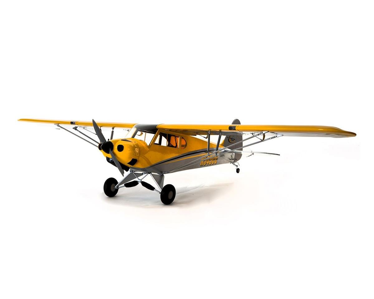SCRATCH & DENT: Hangar 9 Carbon Cub 15cc ARF Airplane Kit (Electric/Nitro/Gasoline) (2280mm)