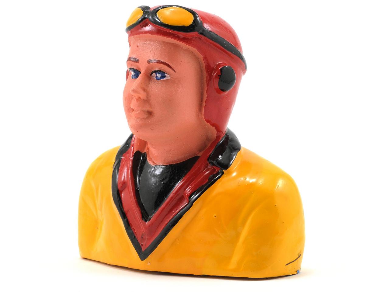 """Hangar 9 """"Hank"""" Pilot Figure w/Helmet & Goggles (1/9)"""