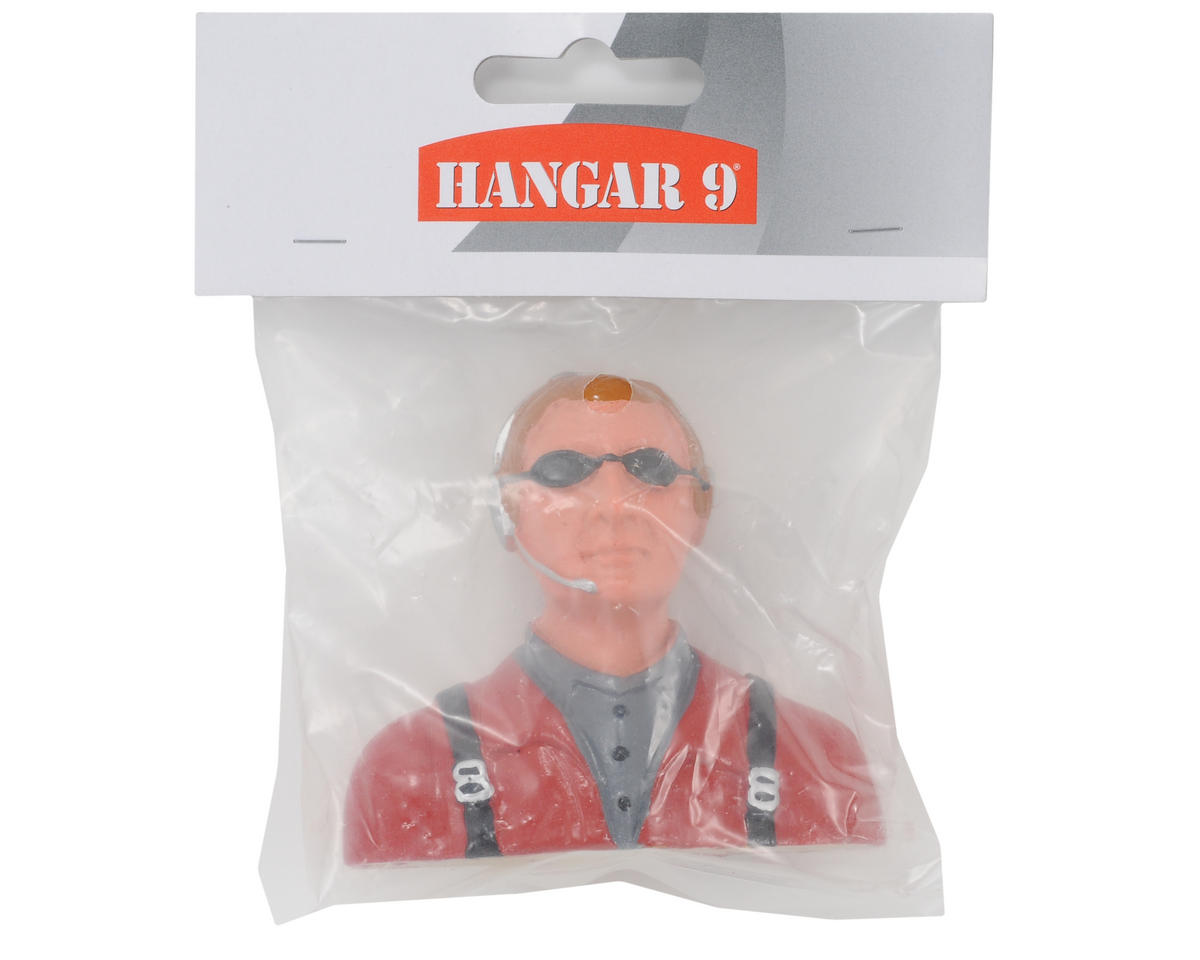 """Civilian"" Pilot Figure w/Headset, Mic & Sunglasses (1/7) by Hangar 9"