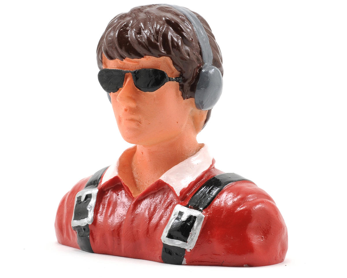 """Young Civilian"" Pilot Figure w/Headphones & Sunglasses (1/7) by Hangar 9"