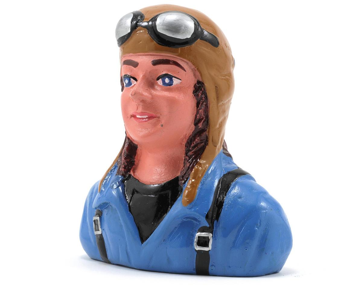 "Hangar 9 ""Linda"" Pilot Figure w/Helmet & Goggles (1/6)"
