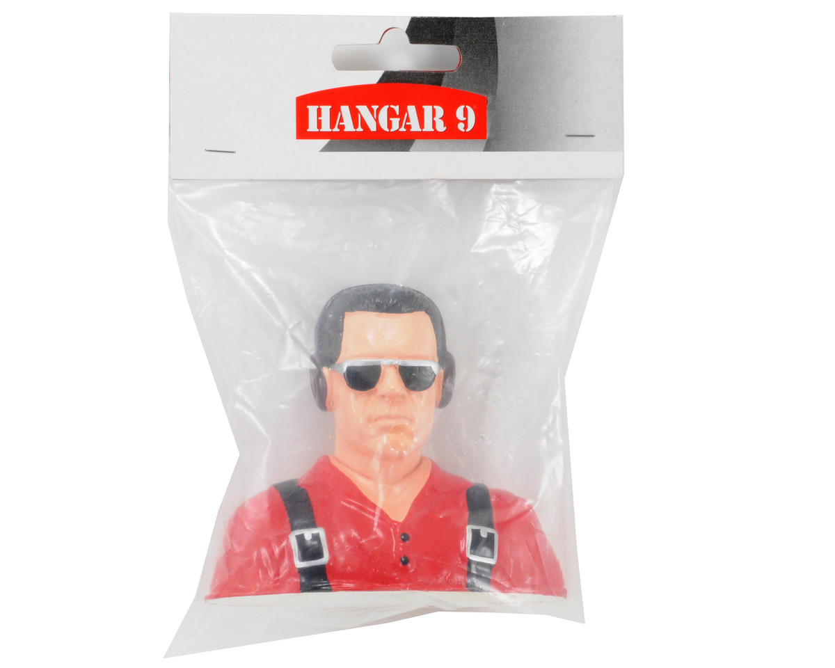 "Hangar 9 ""Civilian"" Pilot Figure w/Headphones & Sunglasses (Red) (1/5)"