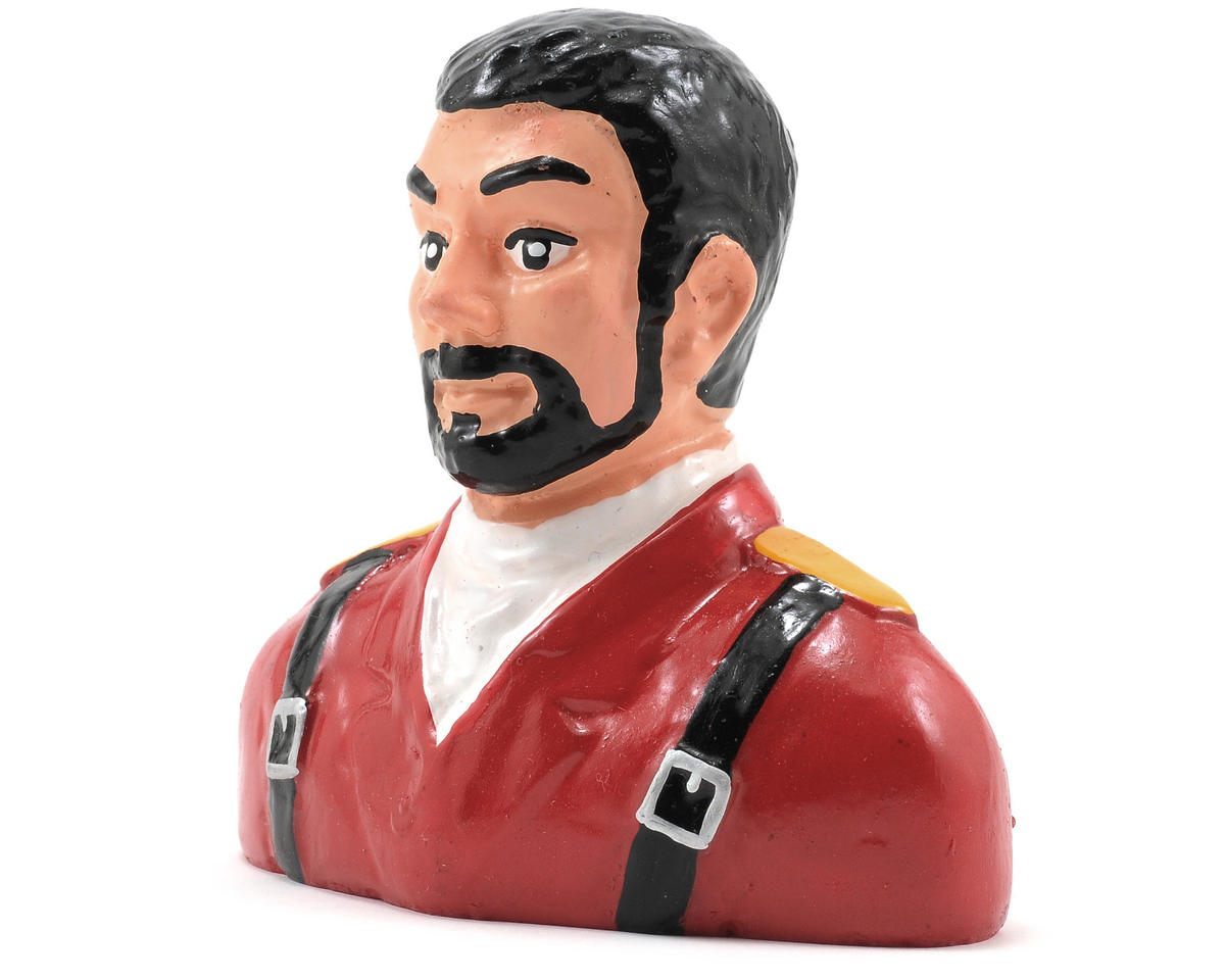 "Hangar 9 ""Civilian"" Pilot Figure w/Beard (Red) (1/5)"