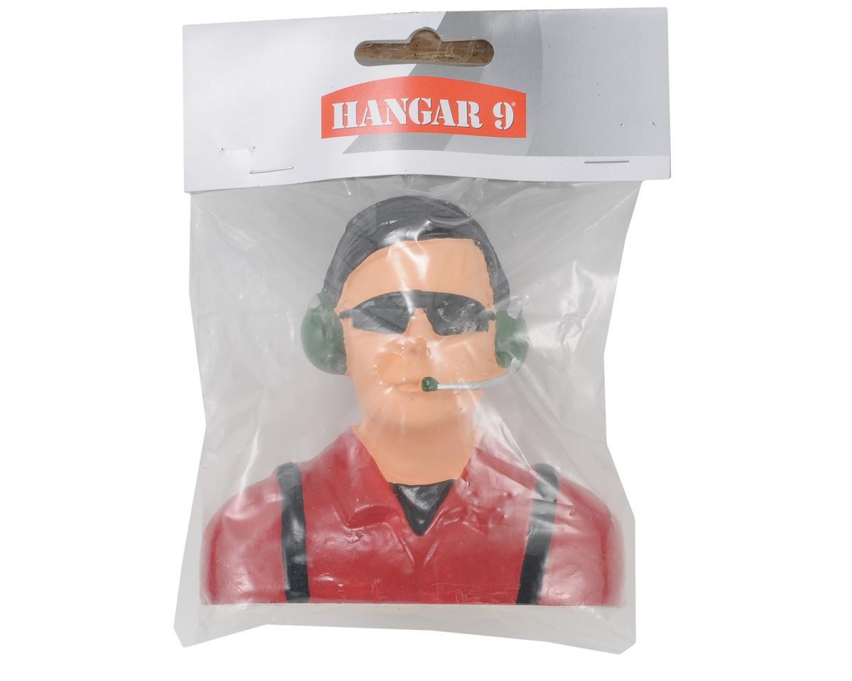 """Civilian"" Pilot Figure w/Headset, Mic & Sunglasses (Red) (1/4) by Hangar 9"