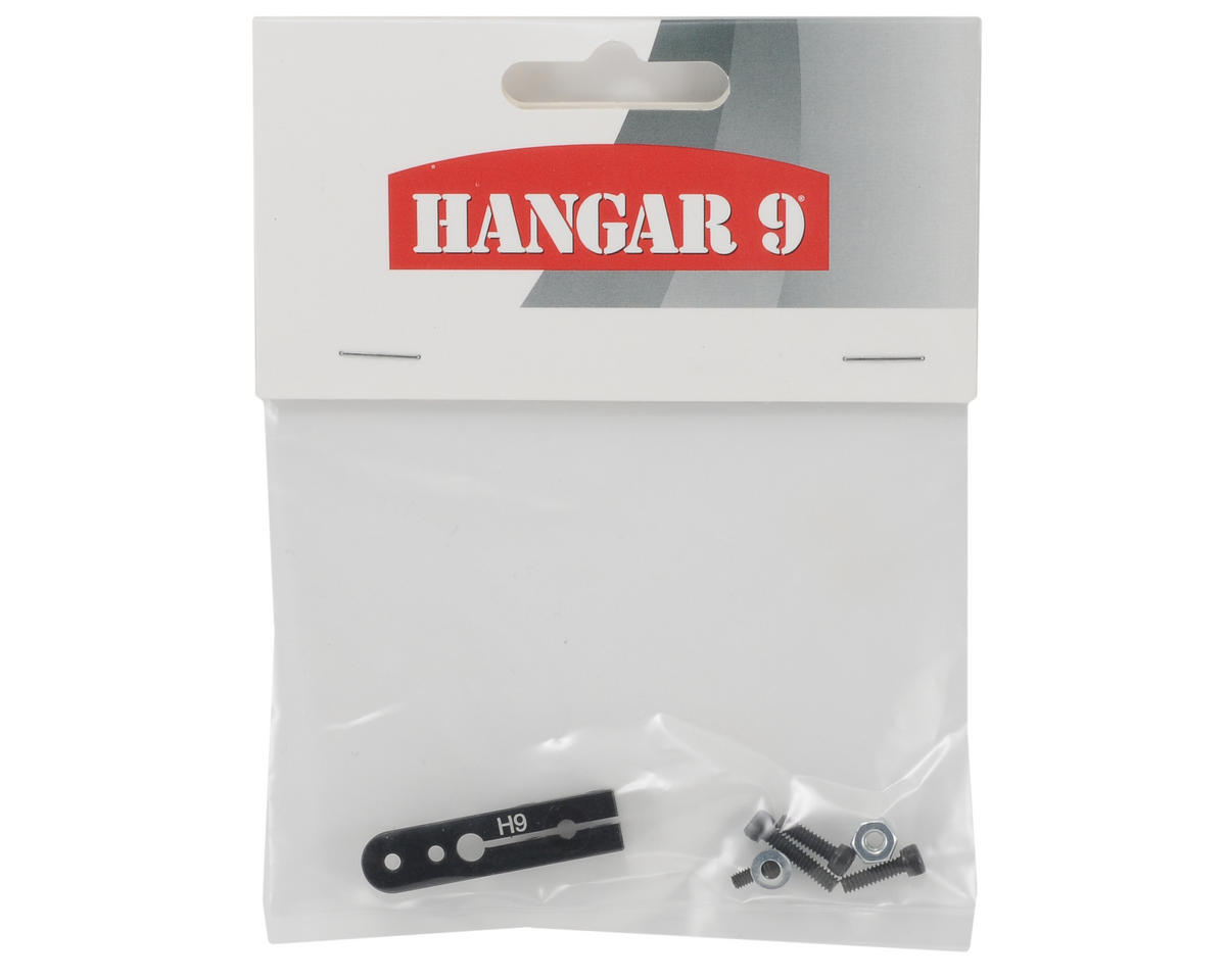 "Hangar 9 ""Spline-Loc"" 1"" Aluminum 1/2 Servo Horn: Hitec"
