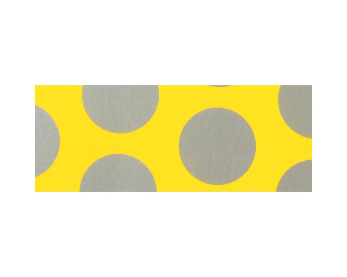 Hangar 9 UltraCote, Bright Yellow with Silver Dots