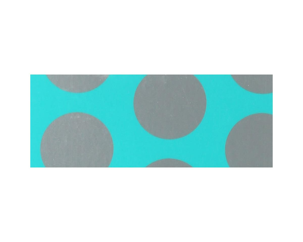 Hangar 9 UltraCote, Turquoise with Silver Dots