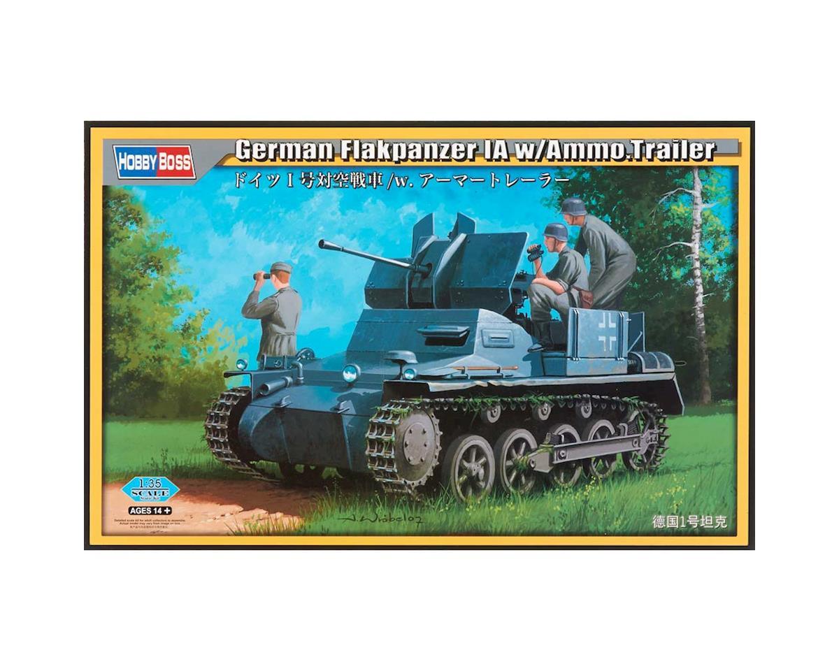 Hobby Boss HY80147 1/35 German Flakpanzer IA w/Ammo Trailer