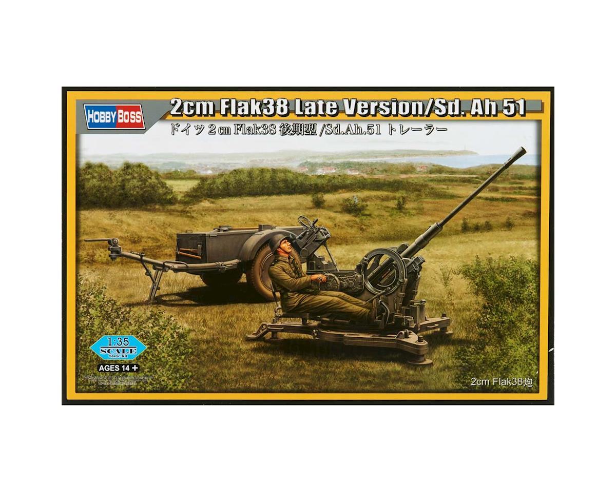 Hobby Boss HY80148 1/35 2cm FLAK38 Late Version SD.AH 51