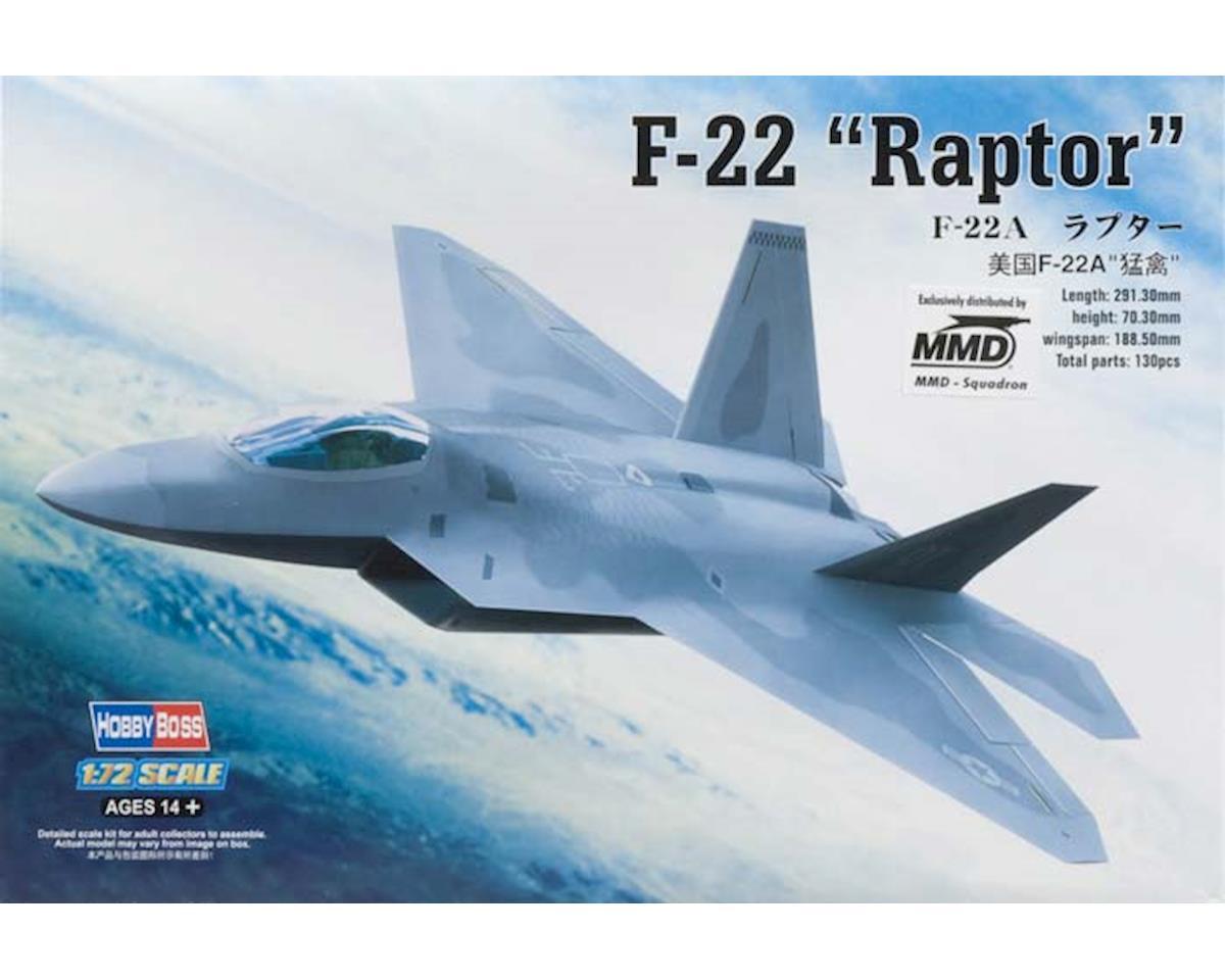 Hobby Boss HY80210 1/72 EZ F-22 Raptor