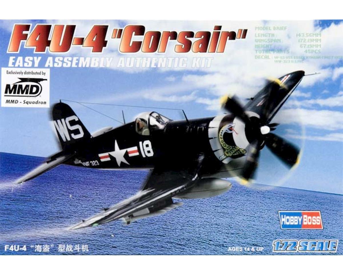 Hobby Boss HY80218 1/72 Easy Build F4U-4 Corsair