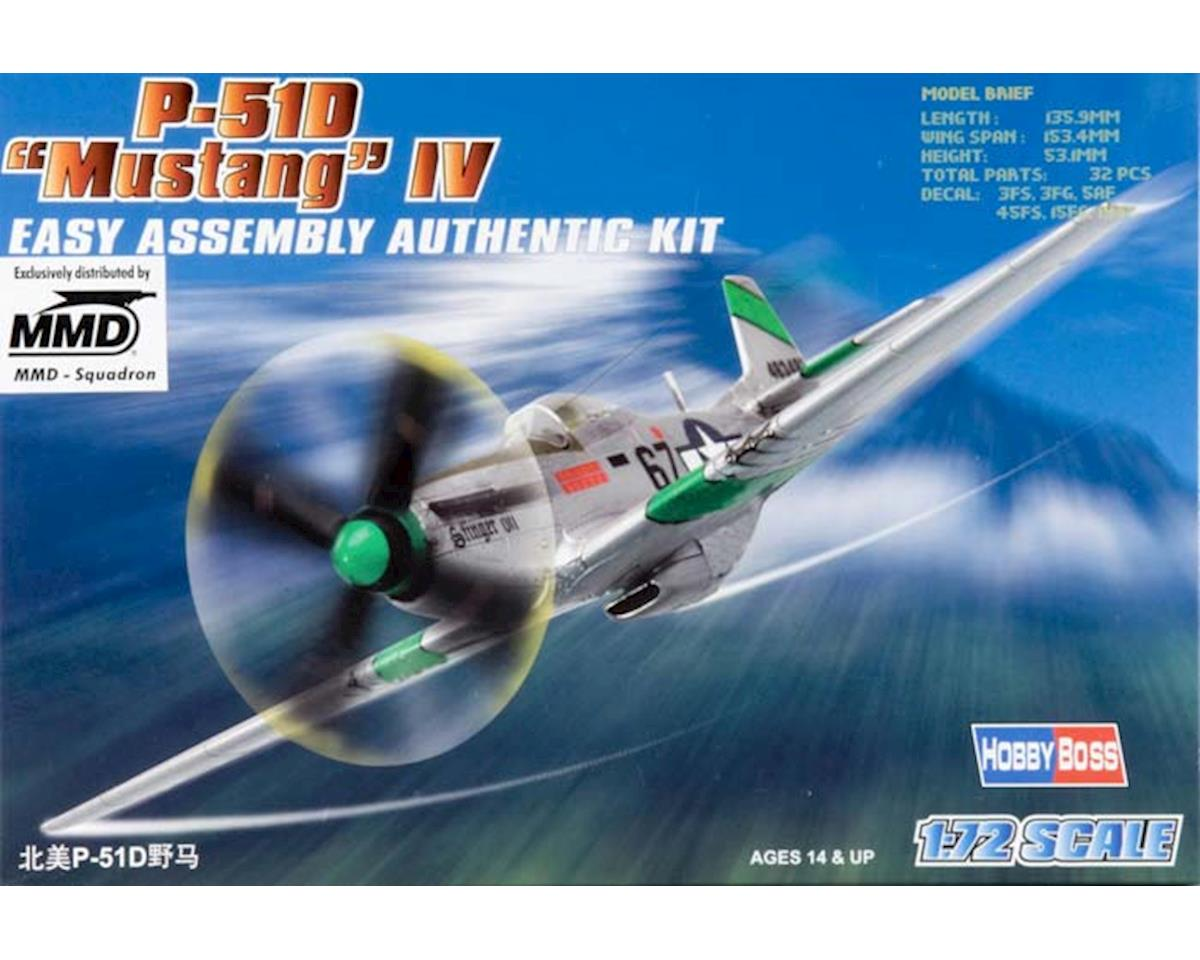 Hobby Boss HY80230 1/72 Easy Build P-51D Mustang IV