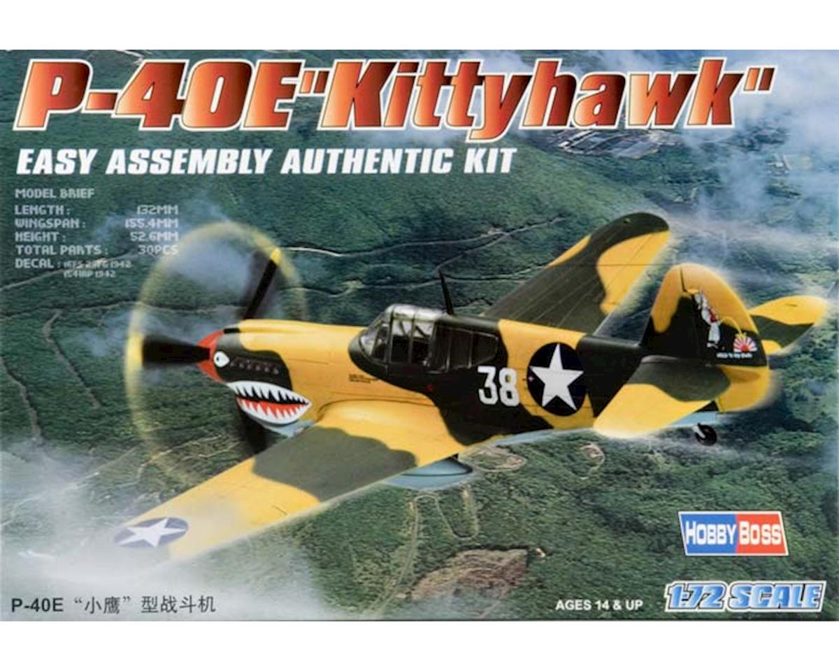 HY80250 1/72 Easy Build P-40E Kittyhawk