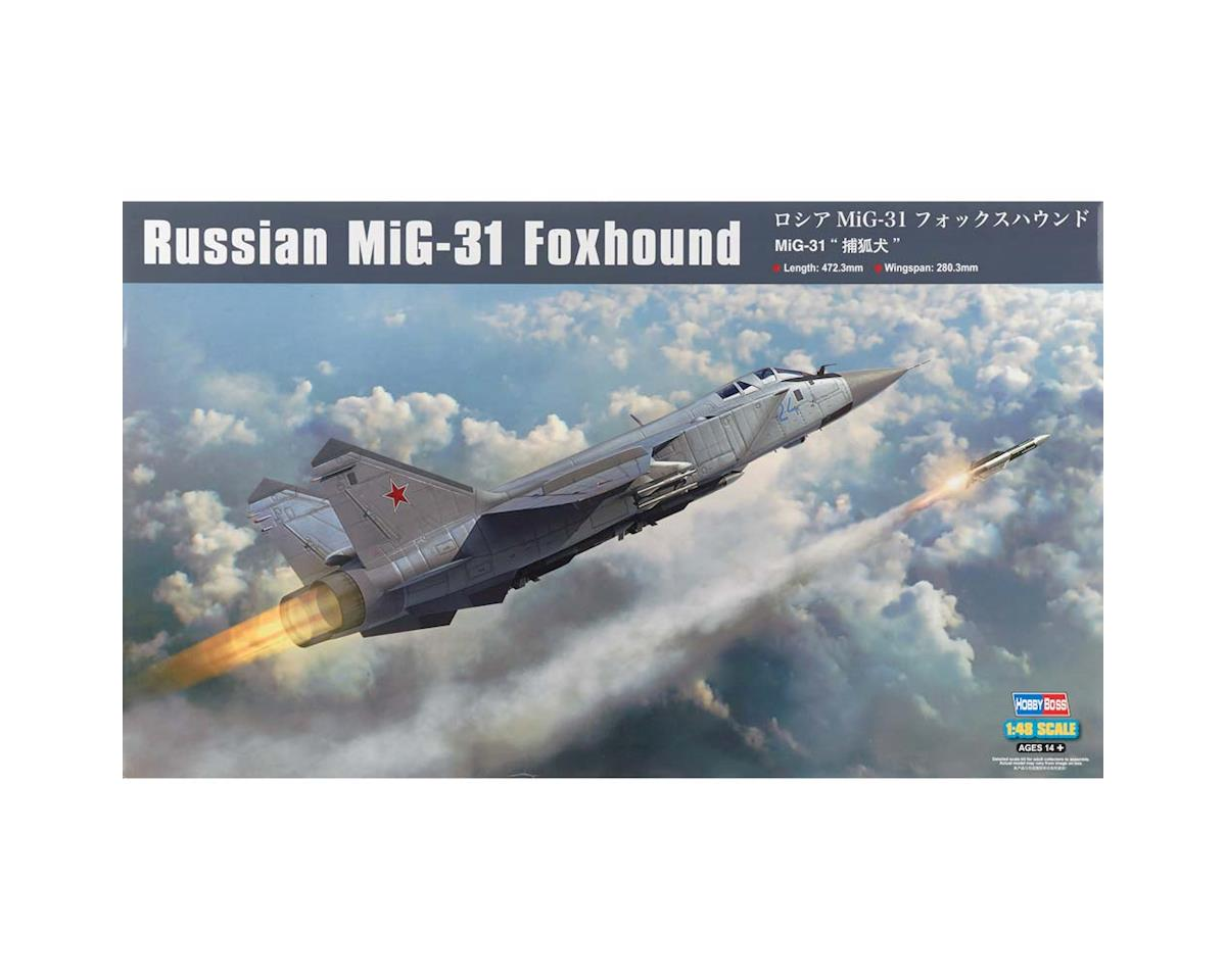Hobby Boss HY81753 1/48 Russian MIG-31 Foxhound