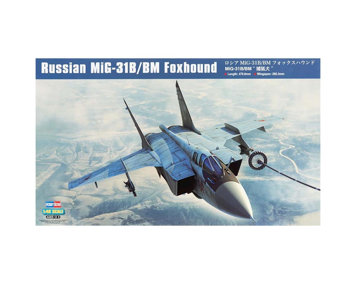 HY81754 1/48 Russian MIG-31B/BM Foxhound by Hobby Boss