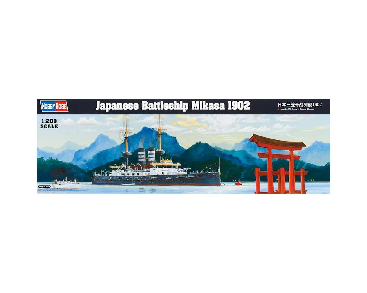 Hobby Boss HY82002 1/200 Japanese Battleship Mikasa 1902