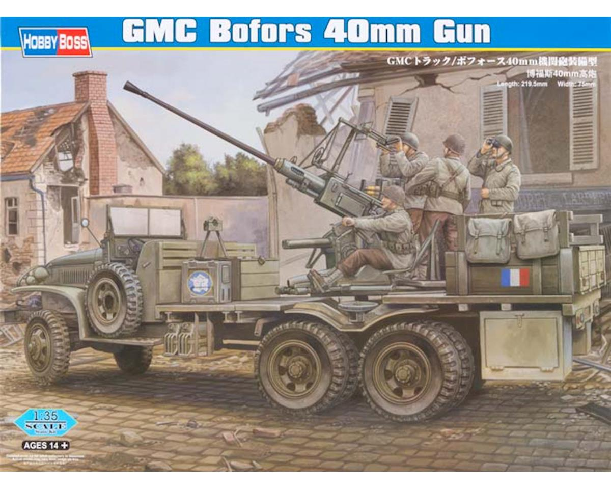 Hobby Boss HY82459 1/35 GMC Bofors 40mm Gun Cargo Truck