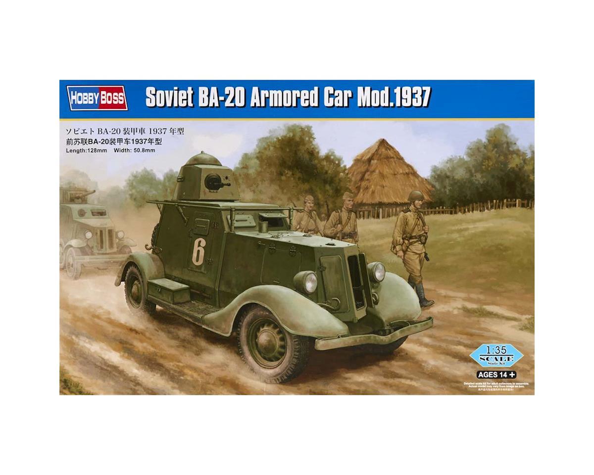 HY83882 1/35 Soviet BA-20 Armored Car Mod. 1937