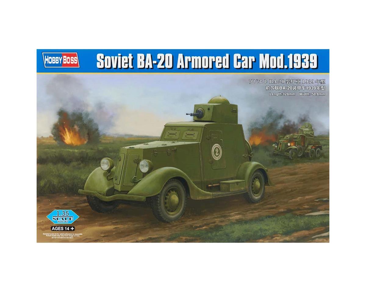 HY83883 1/35 Soviet BA-20 Armored Car 1939 by Hobby Boss